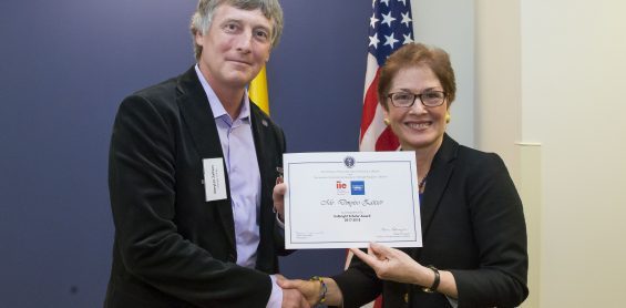 Prof. Zaitsev with Fulbright Scholar Award