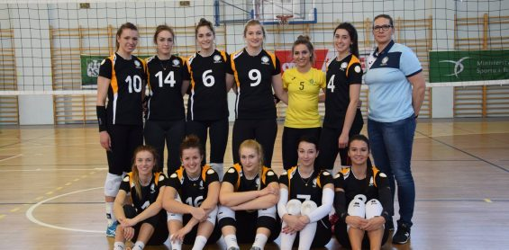 Our volleyball players in the final of the Polish Academic Championships!