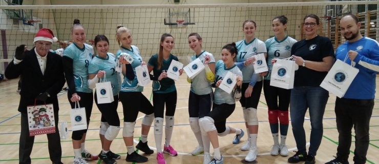 A Christmas gift made by Vistula volleyball players