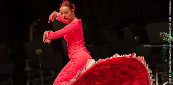 'Flamenco – mysteries of the phenomenon and a dance lesson'. A webinar with the participation of the outstanding dancer and choreographer, Karolina Łucznik